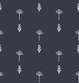 Cute floral geometric seamless pattern