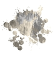 dirty watercolor grunge spot for design vector image