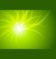 green shiny abstract beams background vector image