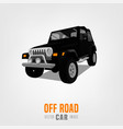 off road car image vector image