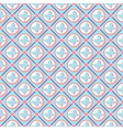 Pink butterfly pattern art vector image
