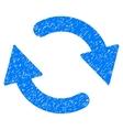 Refresh Grainy Texture Icon vector image vector image
