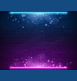 retro abstract blue and purple neon lights