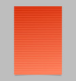 stripe pattern page template - abstract gradient vector image vector image