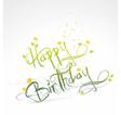 Funny Birthday card vector image