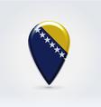 Bosniaherzegovina icon point for map