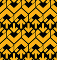Bright abstract seamless pattern with yellow vector image vector image