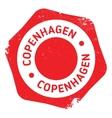 Copenhagen stamp rubber grunge vector image vector image