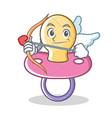 cupid baby pacifier character cartoon