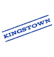 Kingstown Watermark Stamp vector image vector image
