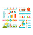 new york infographics vector image