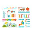 new york infographics vector image vector image