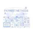 Payment methods set credit card mobile app atm