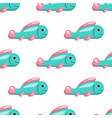 seamless pattern of fish vector image vector image