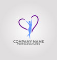 womens body health logo 03 vector image vector image