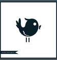 bird icon simple vector image