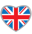 Isolated flag of The United Kingdom vector image