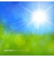 abstract background with bright effects vector image vector image