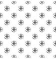 atom icon simple black style vector image vector image