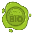Bio wax seal vector | Price: 1 Credit (USD $1)