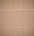 corrugated cardboard Stock vector image