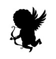 cupid icon isolated on white background vector image