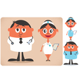 Doctor and Nurse vector image vector image