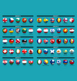 european soccer tournament qualifying draw 2020 vector image vector image