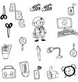 object school in doodle art
