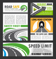 road transportation eco construction industry vector image