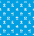 technical support pattern seamless blue vector image vector image