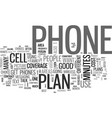which wireless plan and phone should i buy text vector image vector image