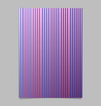 gradient abstract stripe page background design vector image vector image