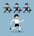 healthy running man vector image vector image