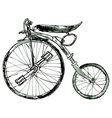 Painted Bicycle3 vector image vector image