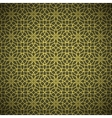 Abstract forged golden flower pattern vector image