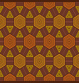 african fabric pattern vector image vector image