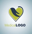 medical logo 2 vector image vector image