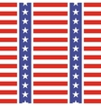 Patriotic USA seamless pattern vector image vector image