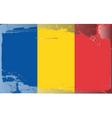 Romania national flag vector image