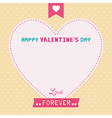 Romantic card19 vector image vector image