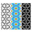 arab mosaic islamic seamless pattern vector image