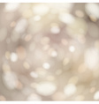 Bokeh light background with white copyspace vector image vector image