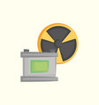 car battery design vector image vector image