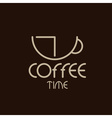 Coffee time concept design template