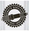 industry automotive auto service vector image