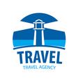 logo beacon indicating travel