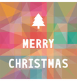 Merry Christmas greeting card6 vector image vector image