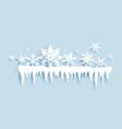 nature seasonal decor vector image vector image