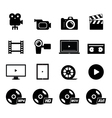 Video Icon vector image